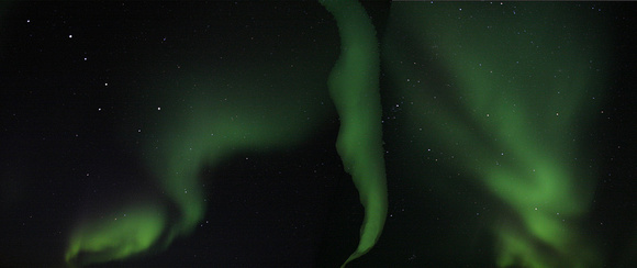 Northern Lights with Big Dipper - Manitoba